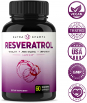 Resveratrol Supplement 1200mg – Extra Strength Formula $21.95 (REG $49.95)