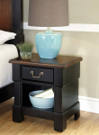 Aspen Rustic Cherry & Black Night Stand by Home Styles $105.00 (REG $279.99)