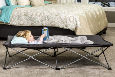 Regalo My Cot Extra Long Portable Bed, Includes Fitted Sheet, Gray$26.99 (REG $44.99)