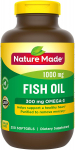 Nature Made Fish Oil 1000 mg Softgels, 250 Count Value Size for Heart Health† $10.85 (REG $20.49)