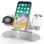 3 in 1 Aluminum Charging Station for Apple Watch Charger Stand Dock $12.32 (REG $21.99)
