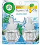 Air Wick plug in Scented Oil 2 Refills, Fresh Waters Essential Oil, Air Freshener $4.98 (REG $8.27)
