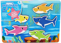 Pinkfong Baby Shark Chunky Wooden Sound Puzzle – Plays The Baby Shark Song, Multicolor $7.20 (REG $24.99)