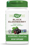 Nature's Way Black Elderberry Capsules, 1,150 mg per serving, Immune Support, 100-Count $8.58 (REG $22.98)