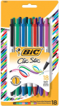 BIC Clic Stic Fashion Retractable Ballpoint Pen, Medium Point (1.0mm) $3.97 (REG $9.07)