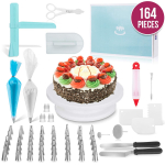 Ultimate Cake Decorating Supplies 164 Pcs $29.95 (REG $59.95)