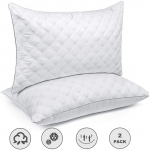 Bed Pillows for Sleeping(2-Pack) Luxury Hotel Collection Gel Pillow $46.99 (REG $99.99)