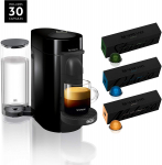 LIMITED TIME DEAL!!! Nespresso VertuoPlus Coffee and Espresso Machine Bundle $99.99 (REG $212.00)