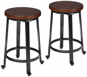Ashley Furniture Signature Design Challiman Bar Stool $74.39 (REG $154.73)