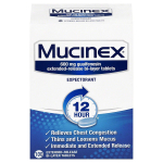 Mucinex Expectorant 12 Hour Extended Release Tablets $25.45 (REG $59.91)