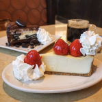 Two Free Cheesecake Slices w/ $25 Gift Card at The Cheesecake Factory