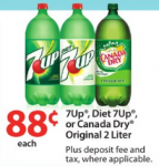 7-UP 2-Liters only 33¢ at Walmart!