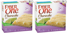 Fiber One Key Lime Cheesecake Bars Wrappers Only $0.56/Bar Shipped!