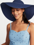 Floppy Straw Sun Hat for Women $10.00 (REG $24.99)