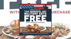 All Military Eat Free At Hooters W/ Any Drink Purchase