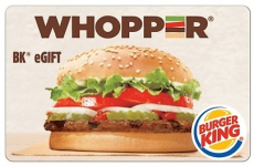 $5 for $10 Burger King EGift Card (Select Accounts)
