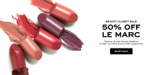 Beauty Closet Sale 50% OFF Le Marc