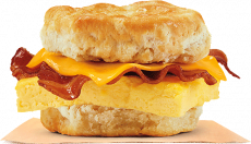 Only $1 for Bacon, Egg & Cheese Biscuit at Burger King