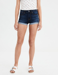 High-Waisted Denim Short Short American Eagle Outfitters
