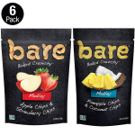 LIMITED TIME DEAL!!! bare Medleys, Variety Pack, Apple Strawberry & Pineapple Coconut $18.74 (REG $29.97)