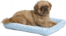 MidWest Bolster Pet Bed | Dog Beds Ideal for Metal Dog Crates $10.99 (REG $22.99)