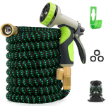 LIMITED TIME DEAL!!! Zalotte Expandable Garden Hose with 9 Function Nozzle $22.98 (REG $59.99)
