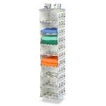 Honey-Can-Do SFT-01570 8 Shelf Hanging Organizer (Brown/Green) $17.70 (REG $36.99)