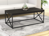 Safdie & Co. Grey Wood Living Room Coffee Coktail Tea Center Table $77.45 (REG $130.00)