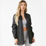 Price Drop! Forever 21 Satin Bomber Jacket (3 Colors)