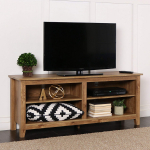 New 58 Inch Wide Barnwood Finish Television Stand $119.00 (REG $249.99)