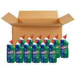 Clorox Toilet Bowl Cleaner with Bleach, Fresh Scent – 24 Ounces, 12 Bottles/Case $27.95 (REG $45.72)