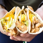 3 for $2.49 Del Taco Grilled Chicken Tacos -Thursday
