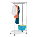 Honey-Can-Do GAR-01120 Heavy Duty Rolling Garment Rack $39.64 (REG $103.50)