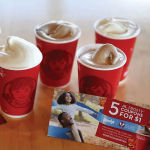 5 Free Wendy's Frostys w/ $1 Coupon Book