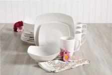 Gibson Home Zen Buffetware 16 Piece Dinnerware Set, White$29.99 (REG $59.99)