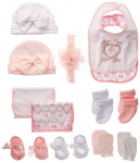 Little Me 13 Piece Baby Gift Set, Pink, 0-12 Months $24.99 (REG $49.99)