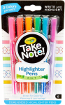 Crayola Take Note Dual Tip Highlighter Pens, Assorted Colors, School Supplies, 6 Count $2.47 (REG $5.99)