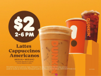 Enjoy Fall with Something Sweet! Dunkin' Hosts Happy Hour