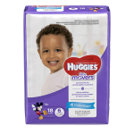 HUGGIES LITTLE MOVERS Diapers, Size 6 (35+ lb.), 18 Ct. $8.99 (REG $15.59)