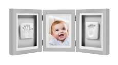 Pearhead Babyprints Baby Handprint & Footprint Deluxe Desk Photo Frame $14.98 (REG $29.95)