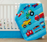 Wildkin 3 Pc Crib Bed In A Bag for Toddler Boys and Girls, $49.99 (REG $79.99)