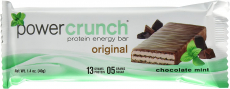 Power Crunch Protein Energy Bar, Chocolate Mint, 1.4-Ounce Bars, 12 Count $16.99 (REG $28.68)