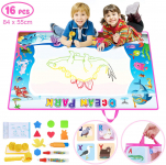 Toch Large Water Drawing Mat 33.1″x21.7″, Foldable Doodle Board Mat Toy $11.99 (REG $19.99)