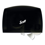 Scott 09602 Essential Coreless Jumbo Roll Tissue Dispenser,Smoke/Gray $7.08 (REG $38.40)