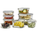 18 Piece Covered Food Storage Container Set Assorted Sizes $36.99 (REG $79.99)