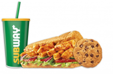 Two Free Sides w/ Footlong of The Day at Subway
