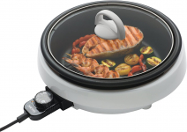 Aroma Housewares ASP-137 3-Quart/10-inch 3-in-1 Super Pot with Grill Plate $29.90 (REG $59.98)