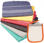 Clotho Towels Turkish Bath and Beach Towel Set of 6 – 39 x 70 inches $44.90 (REG $97.00)