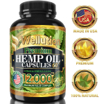LIMITED TIME DEAL!!! Hemp Oil Extract Capsules 12000 MG $9.76 (REG $16.95)
