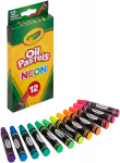 Crayola Oil Pastels, Assorted Neon Colors, Gift for Kids & Adults $3.39 (REG $6.11)